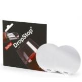 2 Karten mit 2 DropStop® Weinflaschenausgießer Tropfenfänger -