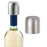 2 Stück Weinverschluss, Vakuum Weinflaschenverschluss *Click and Open Funktion* Flaschenverschluss gegen Geschmacksverlust -