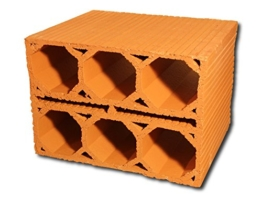 5 Stück - Weinlagersteine aus Ton - Massiv - ®Rimini Baustoffe GmbH -