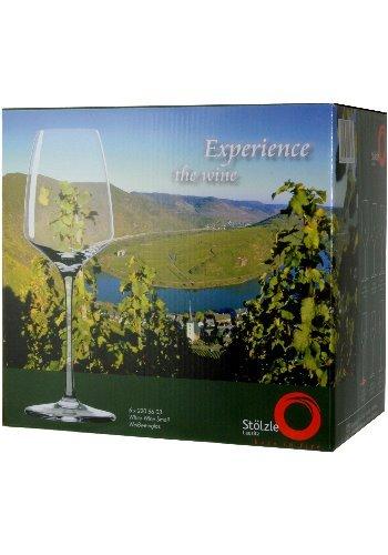 6 Gläser – Stölzle Lausitz Experience Weißweinglas (2200003) -