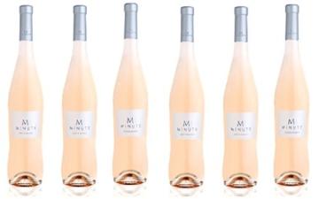 6x 0,75l - 2015er - Château Minuty - Cuvée M Rosé - Côtes de Provence A.O.P. - Provence - Frankreich - Rosé-Wein trocken -