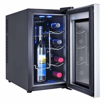 8 Flaschen WEINKÜHLSCHRANK KÜHLBOX KÜHLSCHRANK MINIBAR Winecooler -