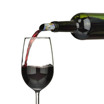 agemore Weinausgießer Disc Set von 12-Best Drip Stop ausgießtüllen-dünn und flexibel Drop Stopping Festplatten -