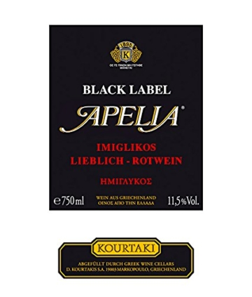 Apelia Black Label 750 ml -