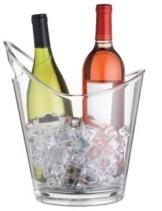 Bar Craft Weinkühler, durchsichtig -