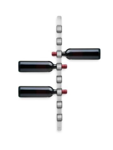Blomus 65193 CIOSO Weinflaschen-Wandhalter für 8 Flaschen -