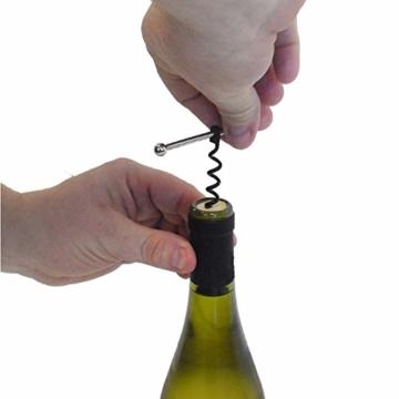 Blue Vessel Mini EDC Taschen-Rotwein-Flasche Korkenzieher Bier Cap Opener Keychain Schlüsselring -Werkzeug -