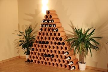 Bouteilles Un - 1er Weinlagersteine aus Ton - ®Rimini Baustoffe GmbH -