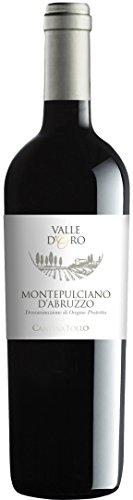 Cantina Tollo Montepulciano Valle d'Oro DOP 2014 trocken (3 x 0.75 l) -
