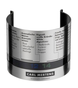 Carl Mertens - Cool Clip Weinthermometer -