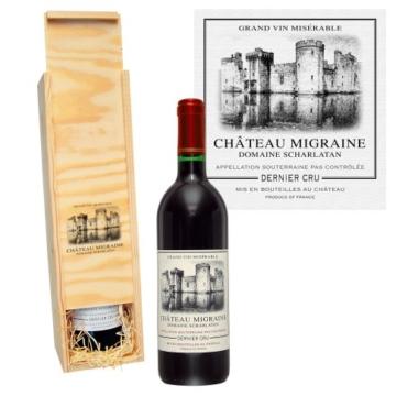 Château Migraine in der Holzkiste (1 x 0.75 l) -