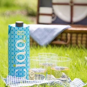 Ciao Secco Bianco Weißwein 12er-Set - trockener italienischer Qualitätswein im umweltfreundlichen Tetrapack (12 x 1 l) -