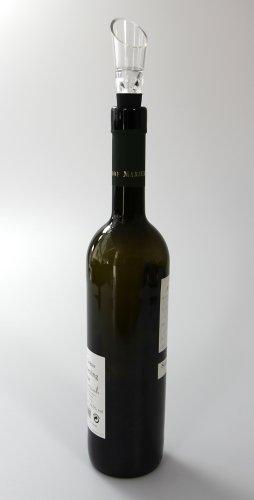 COM-FOUR® Dekantier Ausgießer Belüfter ideal für Wein (2 Stück) -