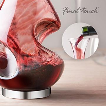Conundrum B00D8ZIYXO Weinbelüfter und Dekanter, Glas (farblos) -