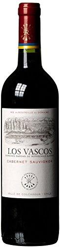 Domaines Barons de Rothschild (Lafite) Los Vascos Cabernet Sauvignon 2014/2015 trocken (1 x 0.75 l) -