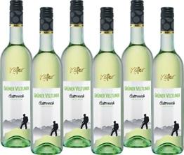 Feinkost Käfer Grüner Veltliner Qualitätswein Österreich  (6 x 0.75 l) -