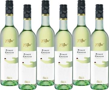 Feinkost Käfer Pinot Grigio trocken (6 x 0.75 l) -