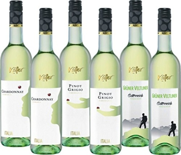 Feinkost Käfer Weißweinpaket (6 x 0.75l) -