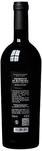 Feudi Di San Marzano Sessantanni Primitivo di Manduria 2012  (1 x 0.75 l) -