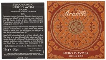 Feudo Arancio Nero d'Avola Sicilia IGT 2014  (6 x 0.75 l) -