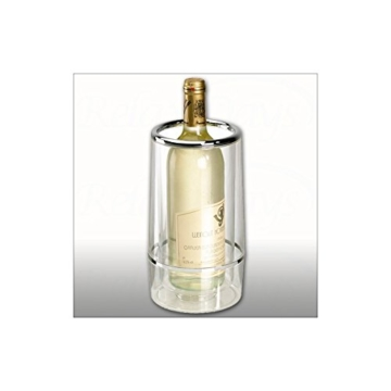 Flaschenkühler Sektkühler Weinkühler doppelwandig -