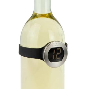 Geschenk Set Digitales Weinthermometer mit Rotwein Monepulciano d'Abruzzo -