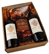 Geschenkset Französische Verführung Schokolade und Rotwein (2 x 0.75 l) -