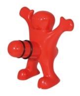Happy Man Bottle Stopper-Flaschenverschluss -