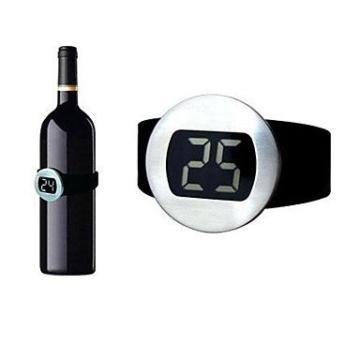 HJLHYL DJ Weinthermometer elektrische digitale Rotwein Uhr -