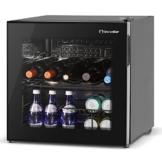 Inventor Vino Weinkühlschrank 49L, Glastür [Energieklasse A] -