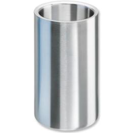 Isosteel VA-9568 Flaschenkühler aus doppelwandigem 18/8 Edelstahl mit matt gebürsteter Außenoberfläche -