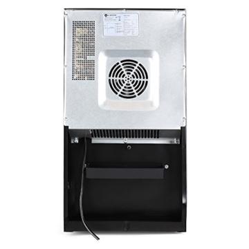 Klarstein Vivo Vino 18 Weinkühlschrank Getränkekühlschrank (52 Liter für 18 Flaschen, 5 Regaleinschübe, LCD-Display) schwarz -
