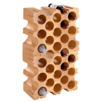 """Kunststoff-Weinregal """"Terrakotta"""" 2er-Set für 30 Fl -"""