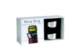 L'Atelier du Vin 095191-2 Tropfring, Edelstahl poliert - 2er Box -