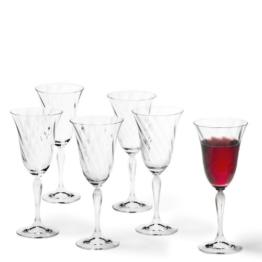 Leonardo 017734 Set / 6 Rotweinglas Volterra -