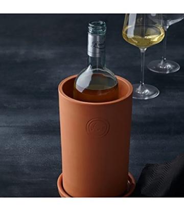 Leonardo Terracotta Weinkühler - Getränkekühler - 2tlg. -