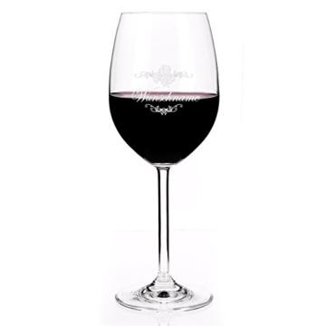 Leonardo Weinglas mit Gratis Gravur des gewünschten Namens -