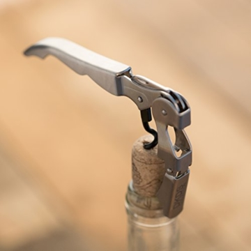 Levivo Kellnermesser mit Klinge für Folienschnitt, Edelstahl -