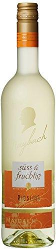 Maybach Riesling QbA süß und fruchtig (6 x 0.75 l) -