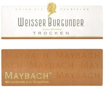 Maybach Weißer Burgunder Qualitätswein  (6 x 0.75 l) -