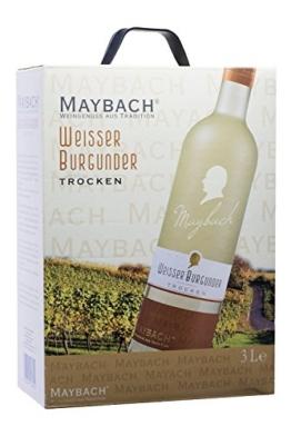 Maybach Weißer Burgunder trocken Bag-in-Box (1 x 3 l) -