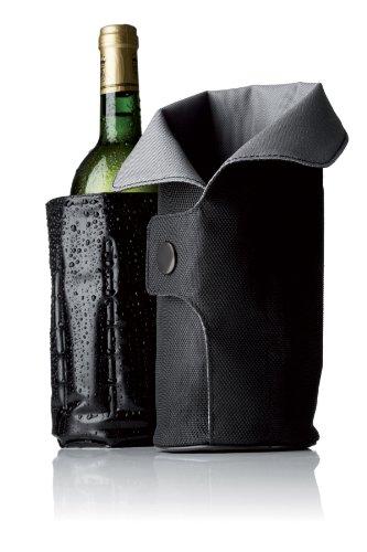 Menu 4658079 Cool Coat Weinkühler, schwarz / grau -