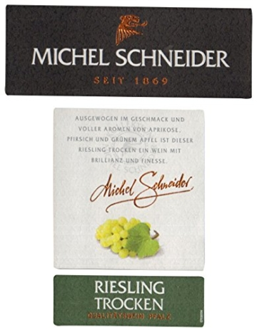 Michel Schneider Riesling Trocken, 2015 (6 x 0.75 l) -