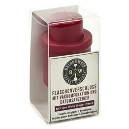 Moses 80905 Reiner Wein Flaschenverschluss Vakuumfunktion -