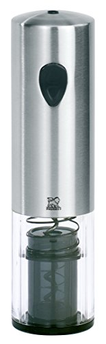 Peugeot 200169 Elis Korkenzieher, Edelstahl, 5,5 x 5,5 x 20,6 cm, silber -