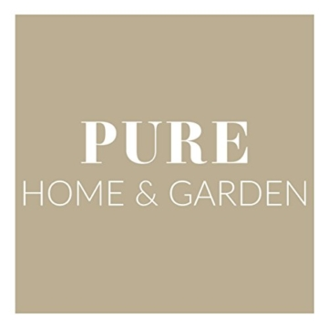 Pure Home & Garden Weinregal für 36 Flaschen grau anthrazit / Qualität Made in Germany -