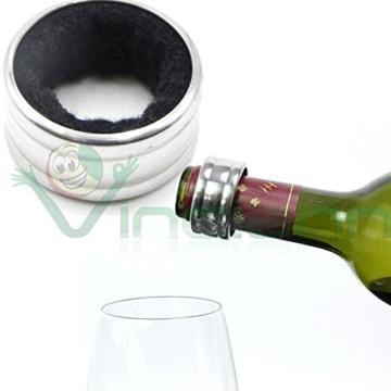 Ring Halsband Anti festen Tropfen Tropfen Tropf Hals FLASCHE WEIN Champagner -
