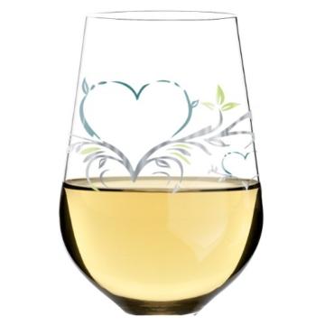 Ritzenhoff 3010008 Designweinglas Weißwein Kurz Design