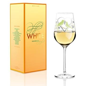 Ritzenhoff 3010013 White Design Weißweinglas, Anissa Mendil, Frühjahr 2015 -