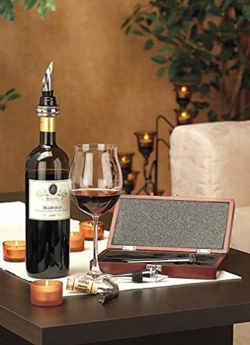 Rosenstein & Söhne Elegantes Wein-Sommelier-Set (5-teilig) - Geschenktipp! -